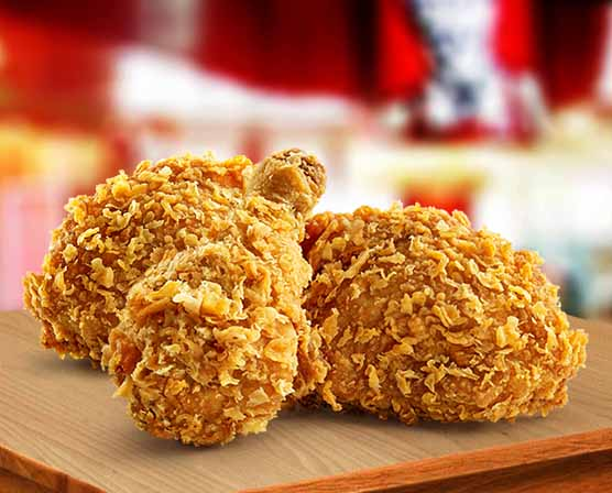 Fried Chicken (3 Pcs)