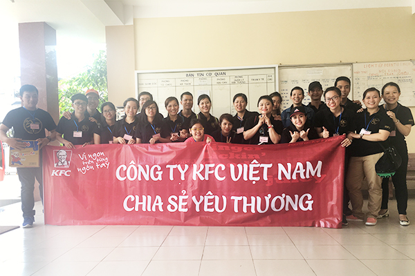 Sharing love with KFC!