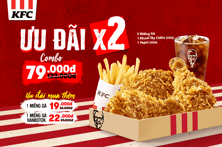 Double Offer With KFC!!!
