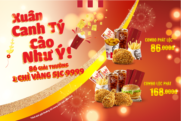 Win golden prize with Tet promotion!