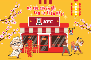 Operation schedule of KFC stores in Lunar New Year 2020