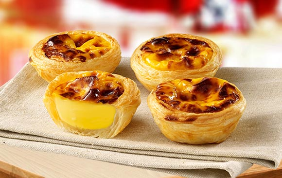 Egg Tart (4 Pcs)